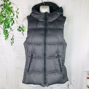 LULULEMON Reversible Down Hoodie Hooded  Puff Vest